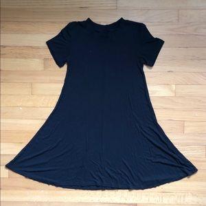 American Eagle Black Swing Dress